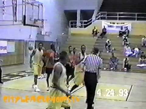 e6bba058b066 Allen Iverson High School AAU Highlights - Iverson dominates AAU basketball  game