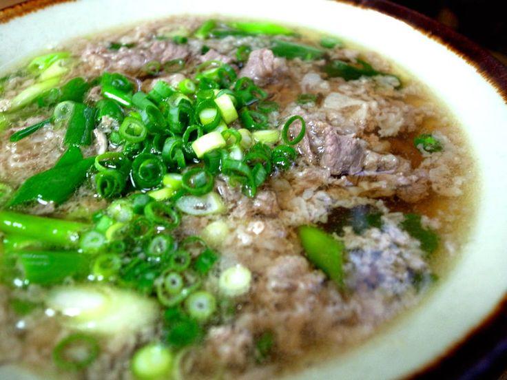 大阪府の郷土料理「肉吸」レシピ紹介!|ふるさとれしぴ