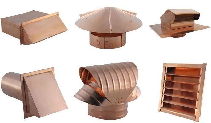 Copper Vent Caps Copper Chimney Caps Wall Vents Kitchen Chimney Home Fix