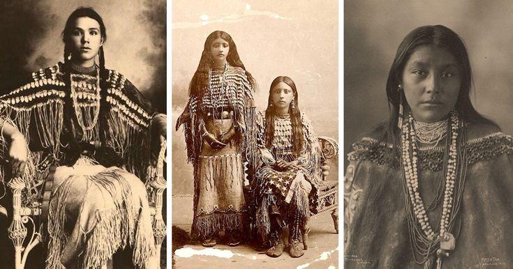 Estos retratos de chicas nativas americanas muestran su belleza y estilo único…