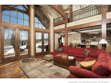 Loft overlooking Living Room | Dream House | Pinterest ...