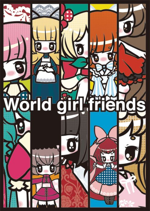world girl friends by MitsukaChiru