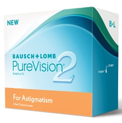 Purevision 2 HD for Astigmatism Contact Lenses,Shop online and save 70% Discount at e2eopticians store, Order Bausch & Lomb Contact lenses.