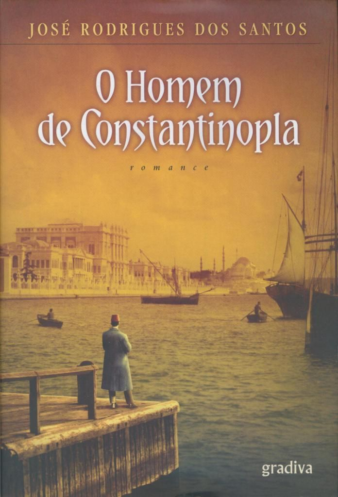 The Man from Constantinople - José Rodrigues dos Santos #books