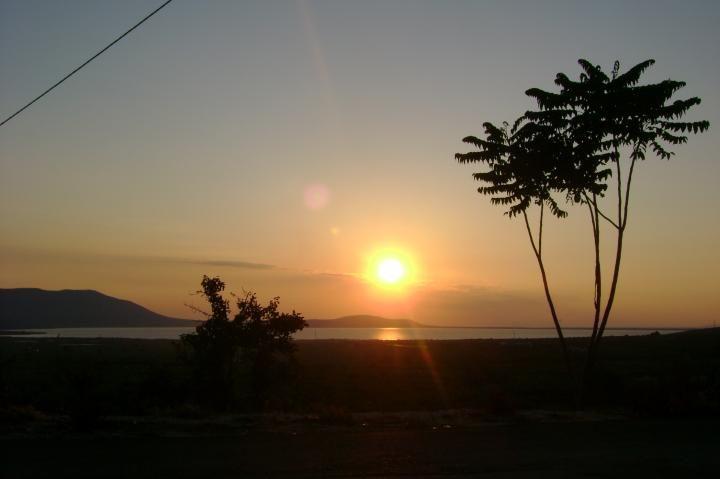 Il tramonto del Salento.