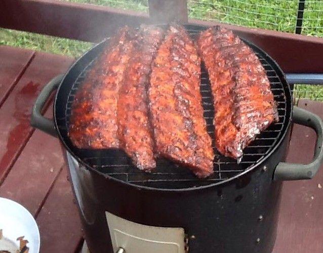 Saumure pour fumer de la viande