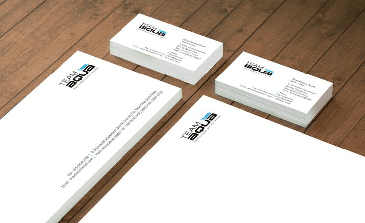 Team Aqua - Corporate Stationery