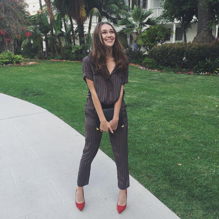 """51.4k Likes, 1,806 Comments - Alycia Debnam-Carey (@alyciajasmin) on Instagram: """"Comic Con you were so fun. Even let me wear pyjamas in public. #CCSD #FearTWD"""""""