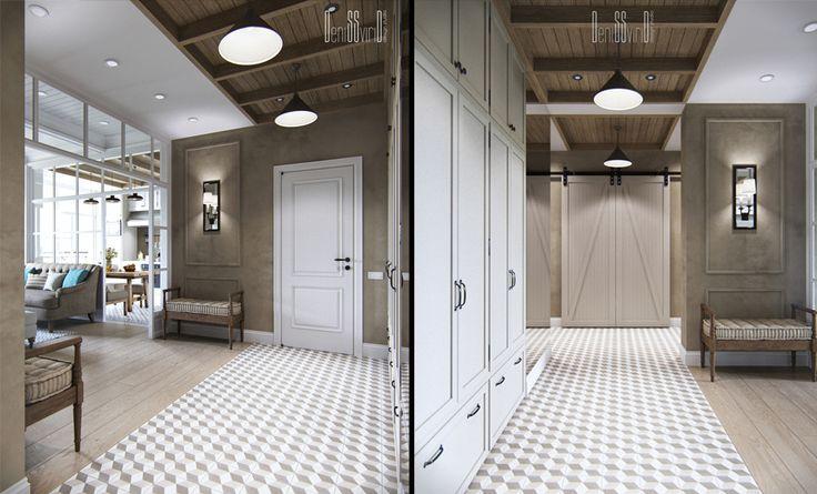 Apartment in Provence styleAddress: Ukraine, KievArchitect Denis Svirid