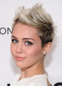 simple hair styles for hair 10 best miley cyrus ses coiffures images on 8275
