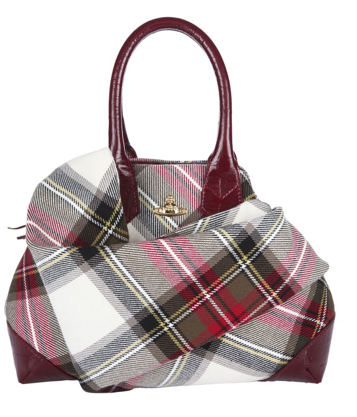 Tartan Trend - Westwood Tartan Bag, £350, House of Fraser http://www.houseoffraser.co.uk/