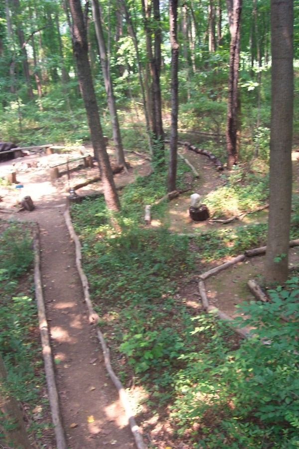 I've always wanted to create a nature trail labyrinth in ...