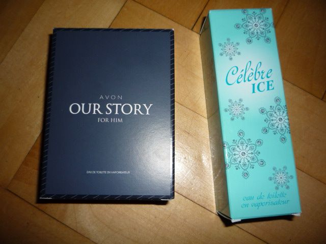 AVON WODA TOALETOWA OUR STORY, CELEBRE ICE