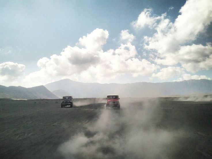 Only on Mount Bromo