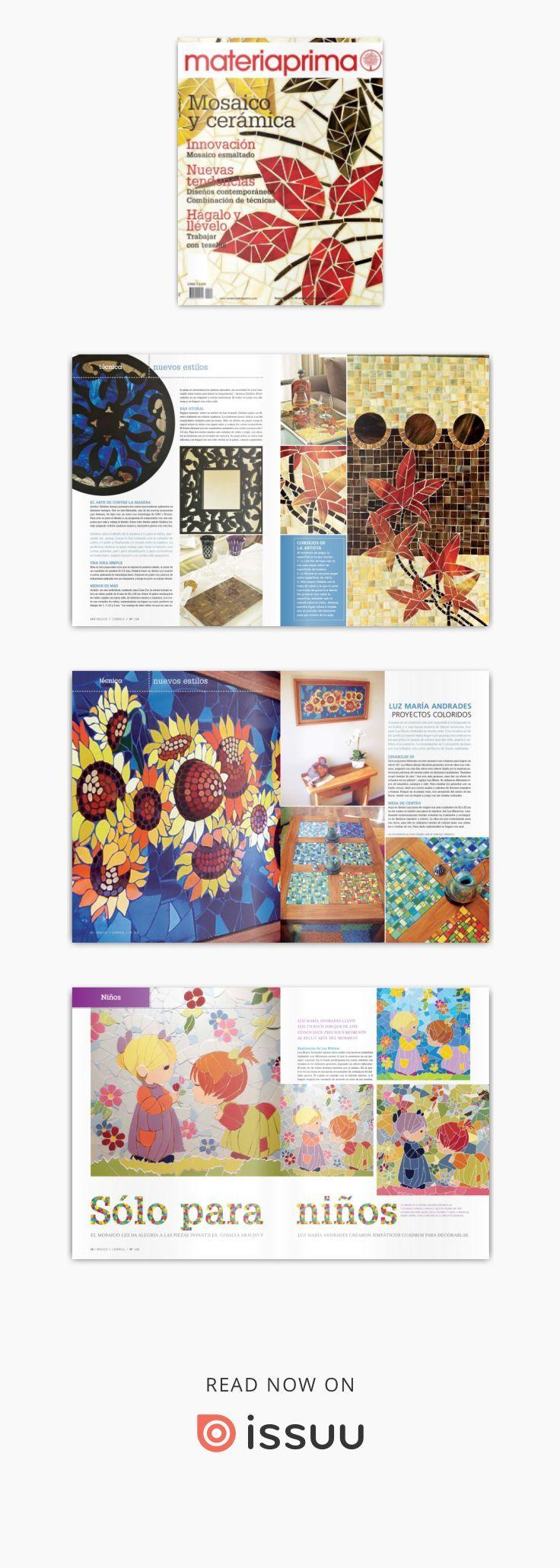 Revista Materia Prima 114 Resumen Mosaic, Cards, Playing