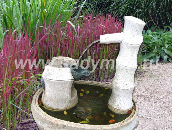 Купить фонтан в японском стиле из камня - Спб, Мск, регионы РФ