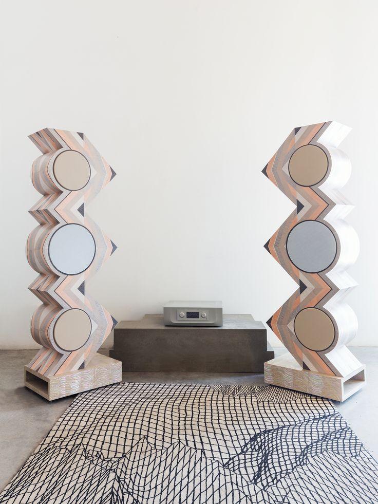 Constellation Audio Argo integrated amplifier on display at the Salone del Mobile in Milan by the artist Mehrnoosh Khadivi #audiophile #highendaudio http://www.constellationaudio.com/