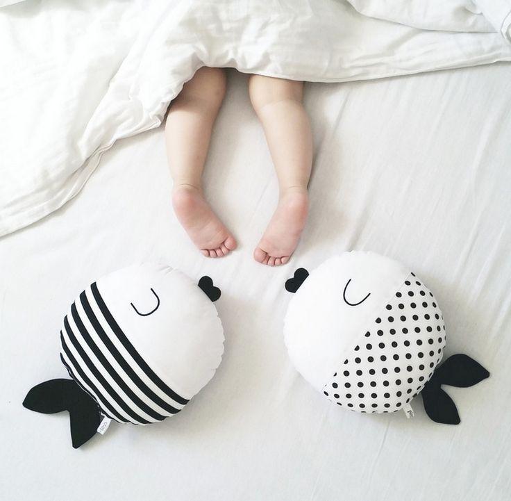 ¡Almohadas de peces!