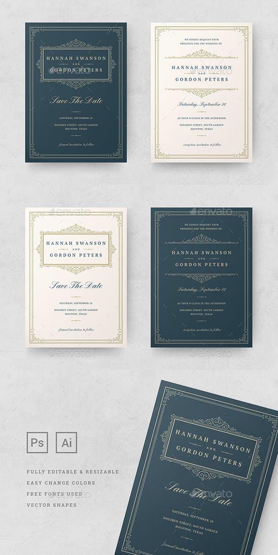 Wedding Invitations Card Templates Psd Ai Card Invite