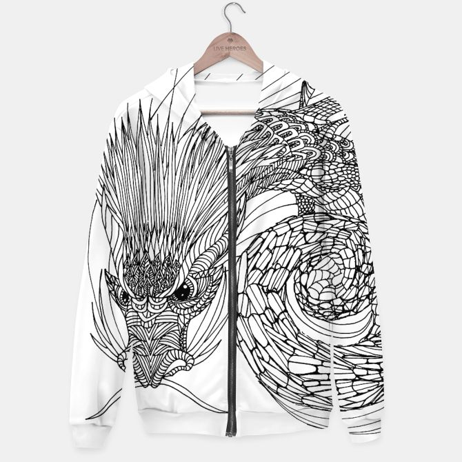 Dragon from Asia Hoodie