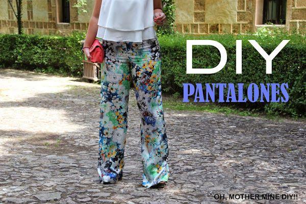 DIY Costura: Pantalones pata de elefante (patrón gratis incluido)   Aprender manualidades es facilisimo.com