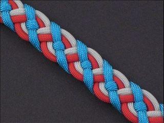 Paracord Celtic Bar | Fusion Knots | Paracord patterns