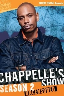 """[Chapelle's Show]    Managing to be both cuttingly satirical and absurdly hilarious, Chapelle's Show was well written and featured perfect performances for its numerous skits and sketches. It is perhaps a bit cliche to suggest that the show """"pushed racial boundaries,"""" but it certainly managed to do more than just entertain. A great show to sit back and watch late at night."""