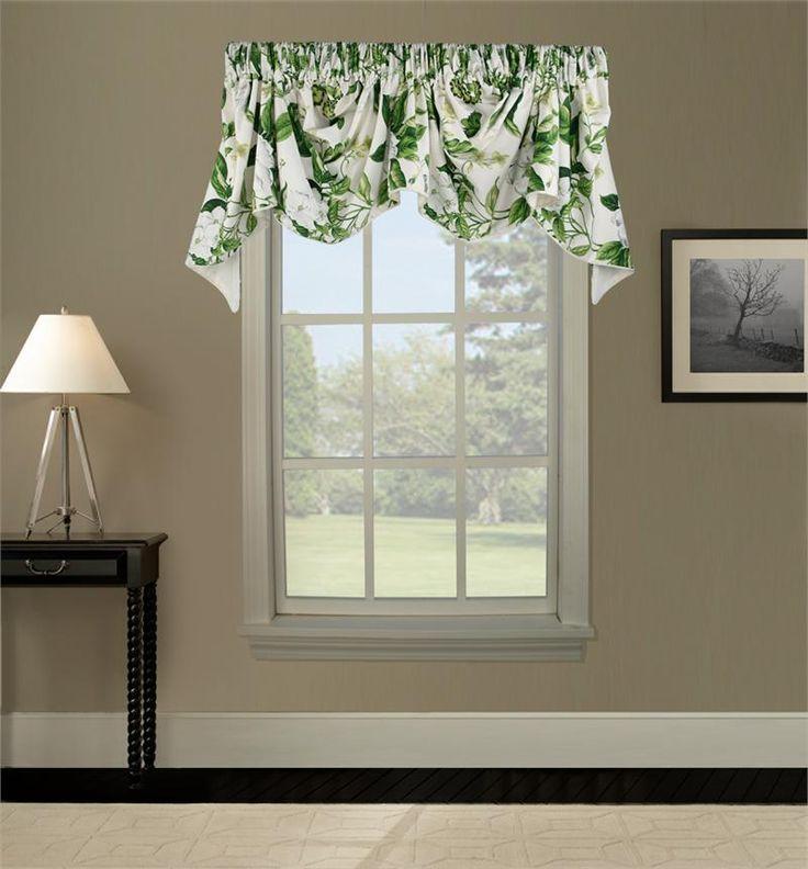 Custom Austrian Valance   Group B   Valance, Kitchen Curtains And Window