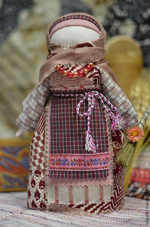 Купить Народная кукла-оберег Домовица.Очистительная кукла. - разноцветный, оберег, оберег для дома