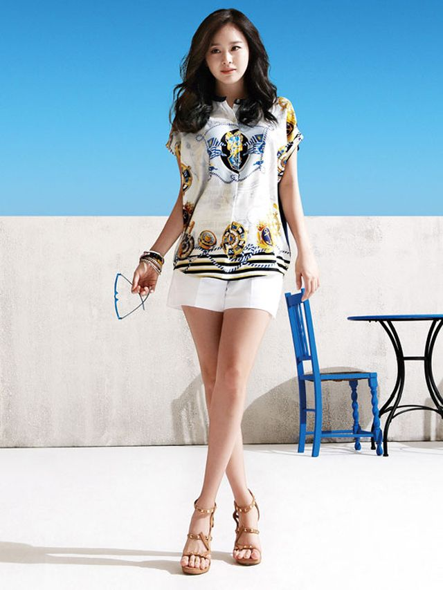 Kim Tae Hee's Exotic Style For ISABEY de Paris Summer 2013 Campaign | Couch Kimchi