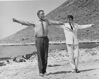 """A man needs a little madness...or else...he never dares cut the rope and be free""-Zorba in Zorba the Greek"