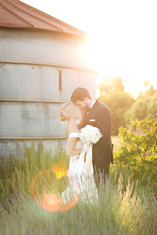 California lavender farm wedding: http://www.stylemepretty.com/california-weddings/turlock/2015/10/08/classic-elegant-lavender-farm-wedding/ | Photography: Brooke Beasley - http://brookebeasleyphotography.com/