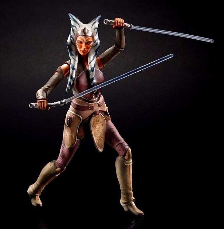 "Star Wars The Force Awakens Black Series Ahsoka Tano 6"" Inch Figure PREORDER #Hasbro"