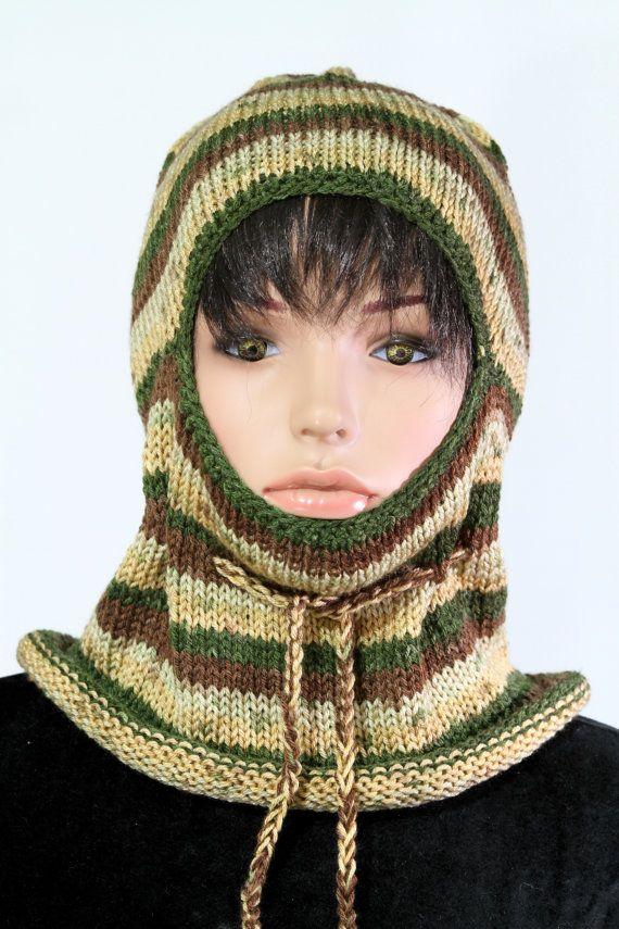Punto de punto balaclava pasamontañas invierno Balaclava Mask
