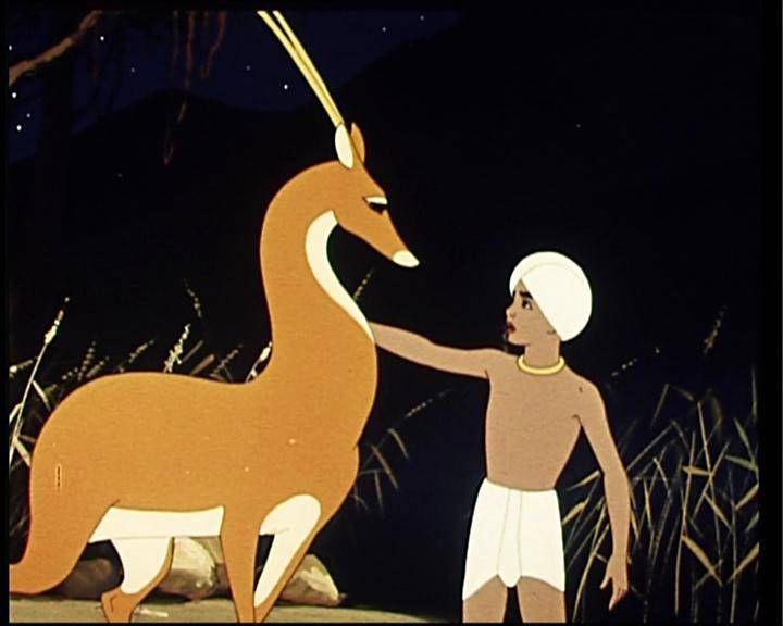 Картинка из золотой антилопы, тему