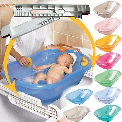 OkBaby anatomische Babybadewanne Onda Evolution mit Wannenstangen in Badewannen   eBay