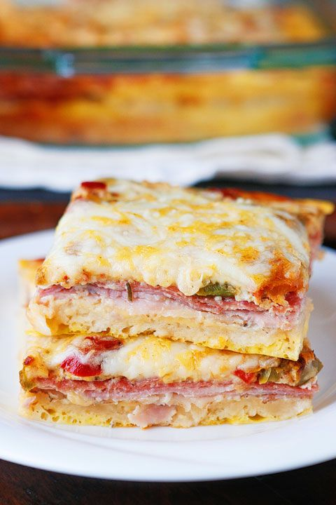 So excited to share this easy, cheesy, Italian Breakfast Casserole with you today. Layers of salami, ham, eggs, and cheese make this the perfect breakfast, lunch, or breakfast for dinner! Plus you can make it the night before and bake it the next morning. We love this one! Here's all you need to make this …