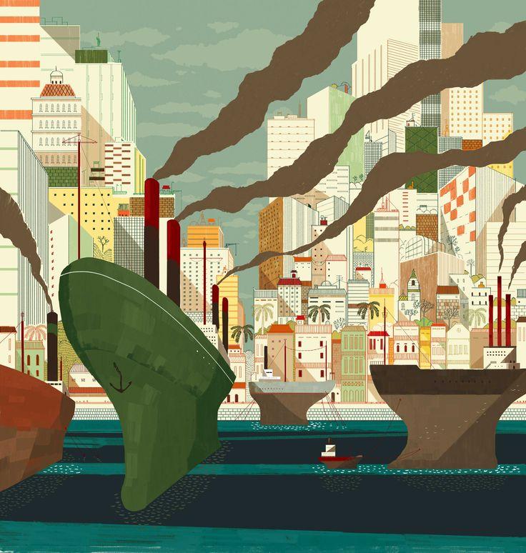 Ship illustration #illustration #boat #boat_illustration #wallpaper_art #wallpaper #homedecor #fantasy