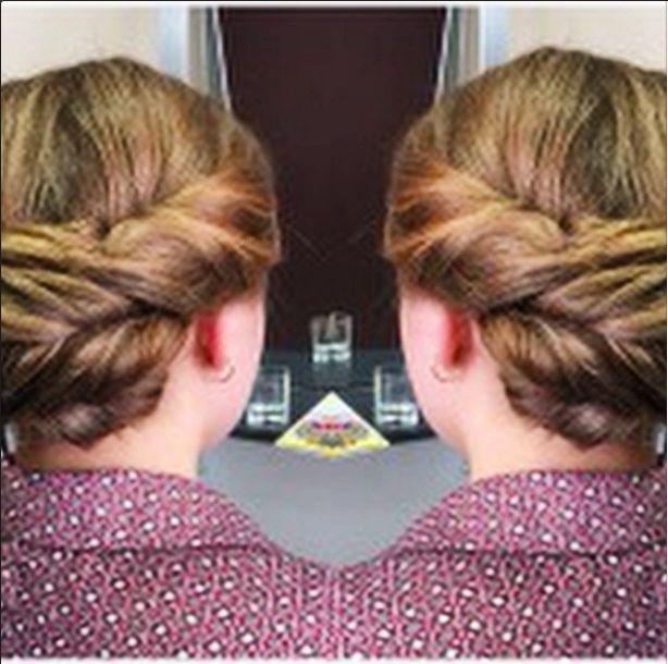 A beautiful #vintage style updo. #hairbyphd #updo #vintagehair #chignon #bun #blonde #hairstyle #wedding #engagement #formal #haircut #hairdresser #parramatta #carlingford #sydney