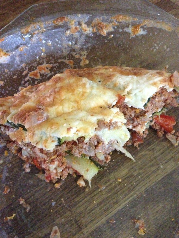 Day 27 zucchini lasagne