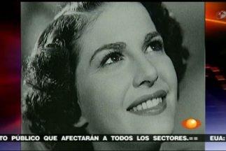 actriz Carmen Montejo.