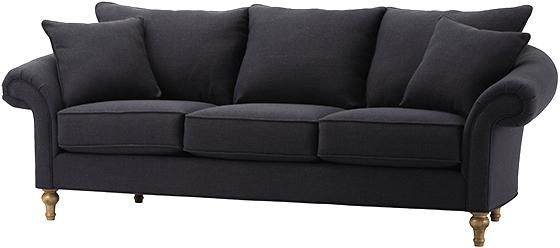Porter Arm Sofa In Dark Navy Home For The