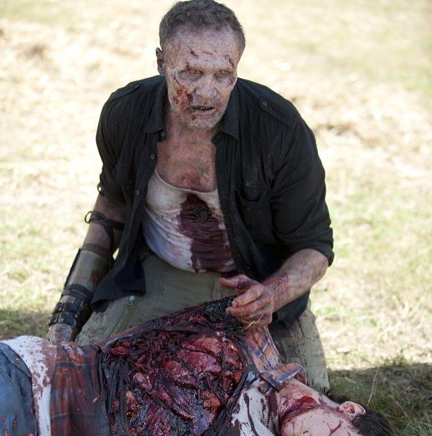 Merle Dixon zombie