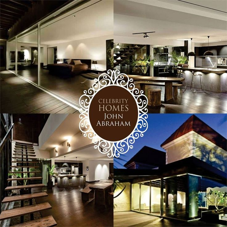 HOMESFurnishings #CelebrityHomes - #Bollywood Hunk John Abraham's Sea facing House in #Mumbai.  His house at Bandra Bandstand is an AJA or Abraham John Architects project, which is the interiors firm run by his father Abraham John and brother Alan Abraham.This project has won the National Runner-Up at IIID Anchor Awards & was also nominated for the World Interiors News Awards in 2013.  #Hero #BestActor #Actor #BestHomes #FridayTreat #TGIF