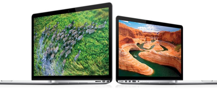 2012. Apple introduces the first high resolution (2560-by-1600 resolution on the 13-inch MacBook Pro) Retina Display.