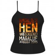 Sunset Hen Party Personalised T-Shirt/Vest Top