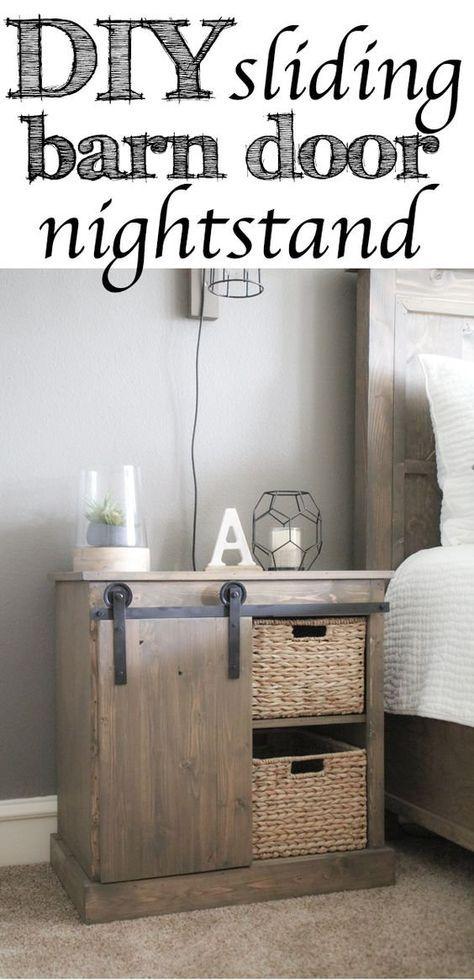 diy fabriquer une table de nuit avec porte coulissante genius pinterest laundry rooms. Black Bedroom Furniture Sets. Home Design Ideas