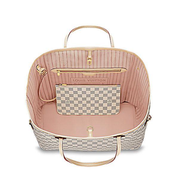 Neverfull GM Damier Azur Canvas - Handbags | LOUIS VUITTON