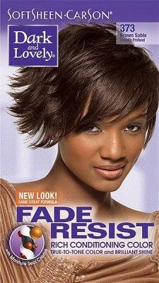 Dark & Lovely Fade Resist Permanent Hair Color