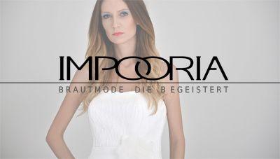 Brautkleider für mollige Bräute jetzt auch in den XL und XXL Größen für allembrautkleider Modelle von IMPOORIA.